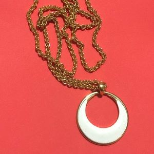 Monet Jewelry - Monet pendant necklace on gold chain